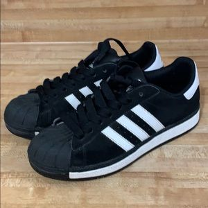 Men's Adidas Black suede shoes